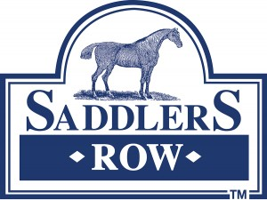 Large Saddlers Row Logo 2955 with website blue done